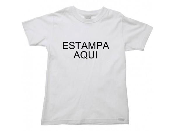 44b483aa9 Camiseta Branca 1 estampa