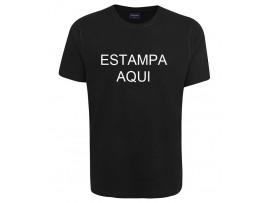 Camiseta preta 1 estampa